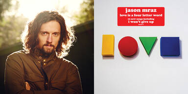 """Der SChmusesänger Jason Mraz veröffentlicht am 13. April sein neues Album """"Love Is A Four Letter Word""""."""