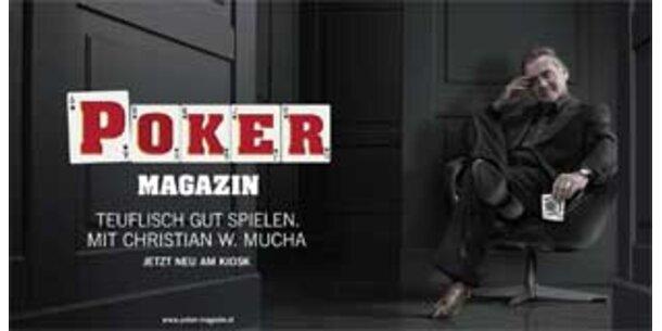 "Verleger Mucha startet ""Poker-Magazin"""