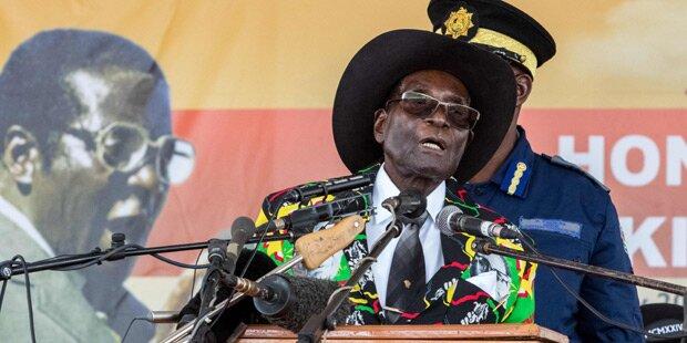 Mugabe aus Regierungspartei ausgeschlossen