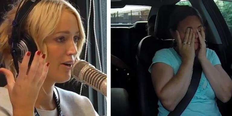 Radiosender überrascht ahnungslose Mutter