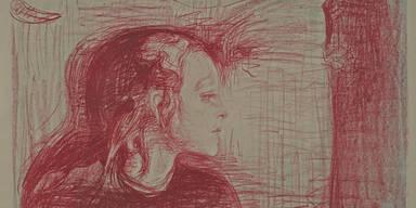 Das Kranke Kind - Edvard Munch