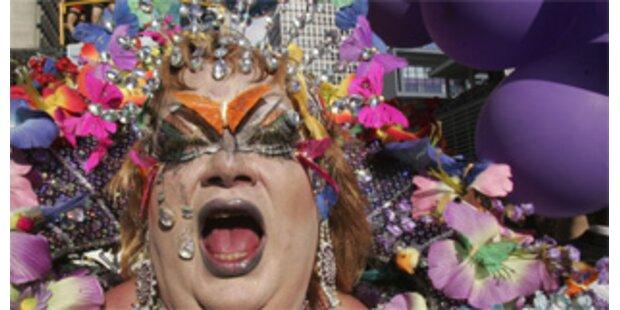 3 Mio Menschen bei Schwulenparade in Sao Paolo