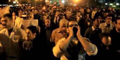 200.000 Demonstranten gegen Mursi in Kairo