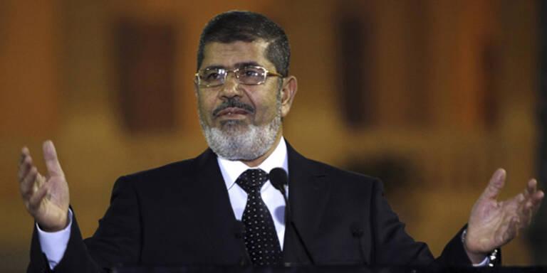 Lebenslang für Ägyptens Ex-Präsidenten Mursi
