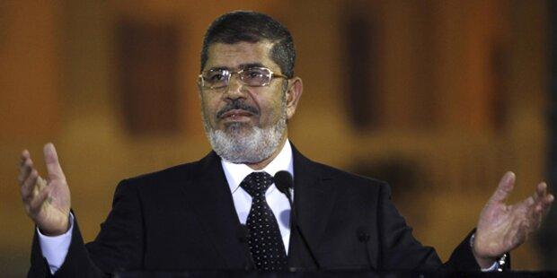 Mursi-Prozess auf Jänner verschoben