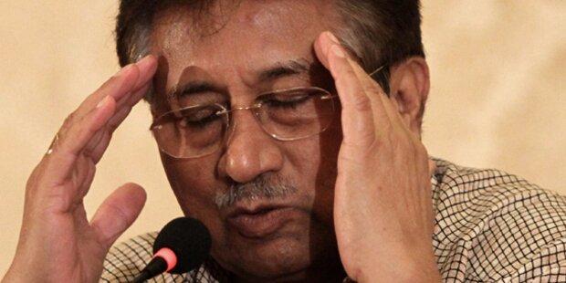 Hausarrest von Musharraf  verlängert