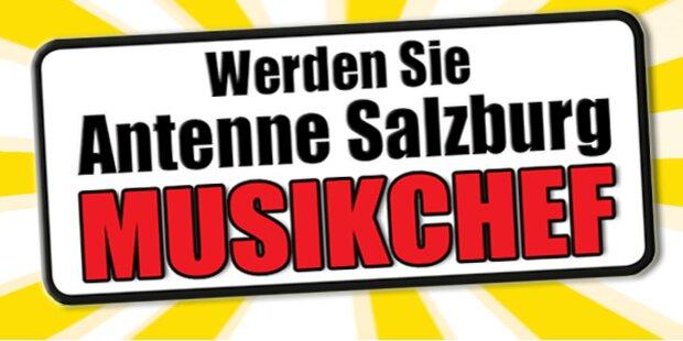 Werden Sie Antenne Salzburg Musikchef!