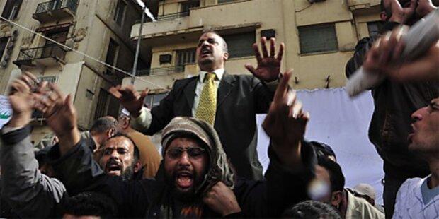 Muslimbruderschaft legt Gespräche auf Eis