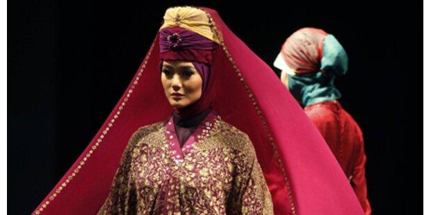 Muslimische Modeschau in Jakarta