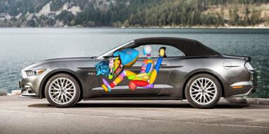 Neuer Mustang mit innovativem Airbag
