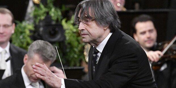 Riccardo Muti adelt Neujahrskonzert 2018