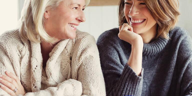 5 Dinge, die man seiner Mutter sagen sollte