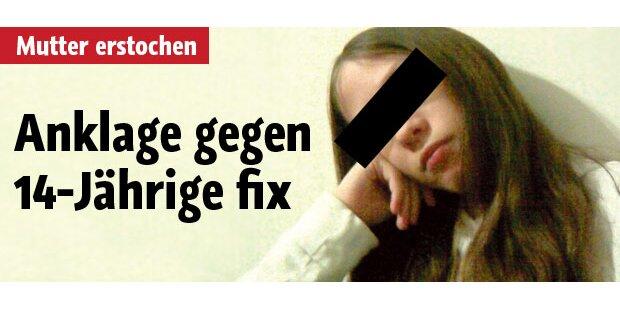 Mutter erstochen: Anklage gegen 14-Jährige