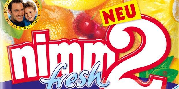 Erfrischende Fruchtbonbons mit dem Guten von nimm2