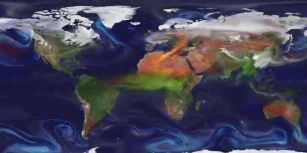 NASA-Studie: Globale Staubverteilung