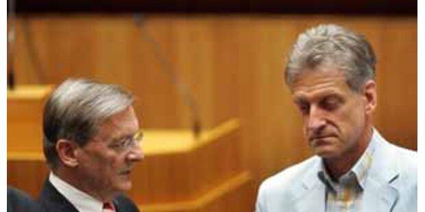 Luxus-Abfertigung noch für 25 Politiker