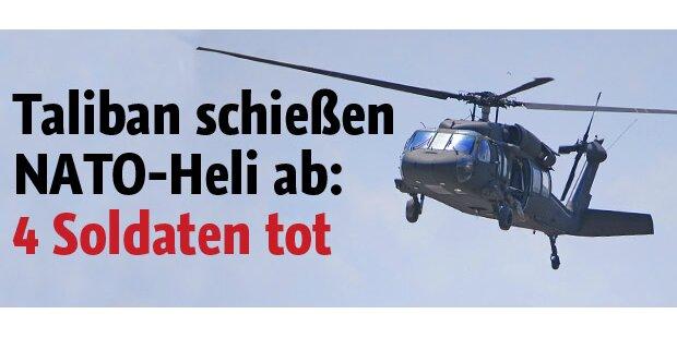 Taliban schossen NATO-Heli ab