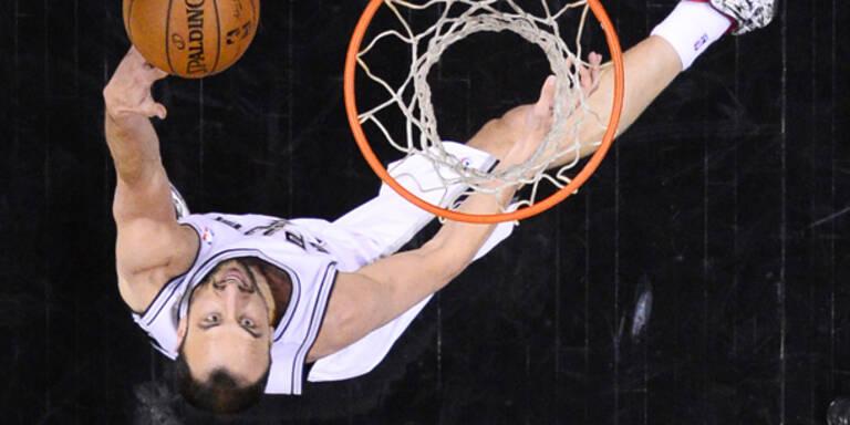 NBA: San Antonio startet mit Sieg