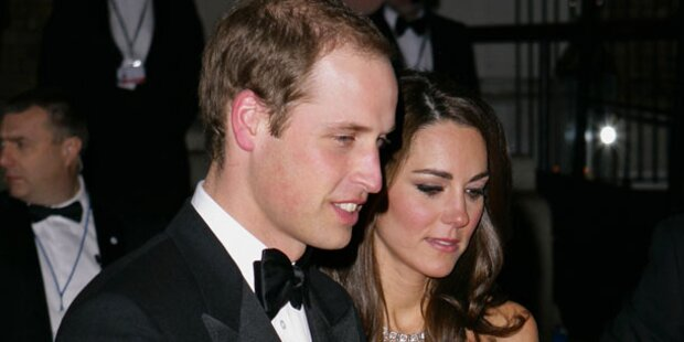 Kate & William feiern Silvester am Land