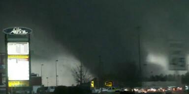 Neue Aufnahmen vom Mississippi-Tornado