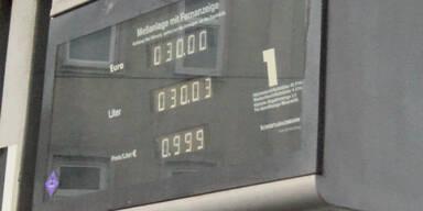 Benzinpreis unter 1 Euro