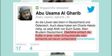 Austro-Islamist droht mit Massaker