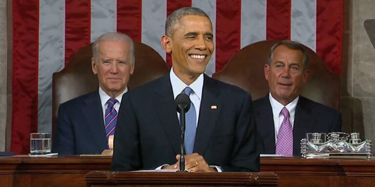 """Obamas Rede zur """"Lage der Nation"""""""