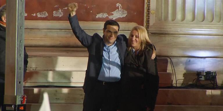 Erdrutsch-Sieg für Tsipras
