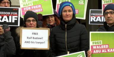 Grünen-Protest für verurteilten Blogger