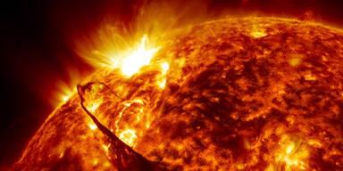 Spektakuläre Aufnahmen der Sonne