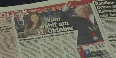 Wien wählt am 11. Oktober