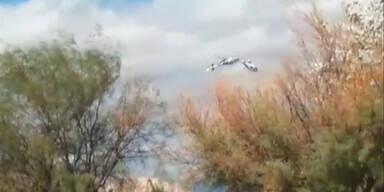 Zehn Tote bei Hubschrauber Kollision