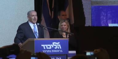 Netanjahu gewinnt Parlamentswahl