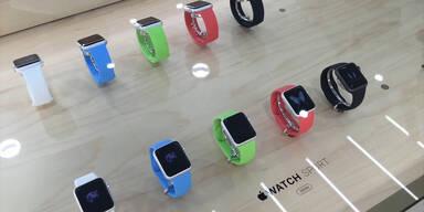 Apple Watch zum Anprobieren