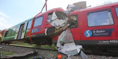Schwere Zugunglück bei Graz