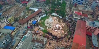Wieder schweres Erdbeben in Nepal