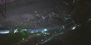 5 Tote bei Zug- Unglück in den USA