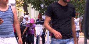 Traiskirchen: Asylwerber demonstrieren