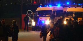 Polizei beim Eurotunnel verstärkt