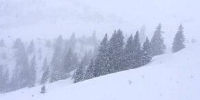 Endlich: Schnee in Ö