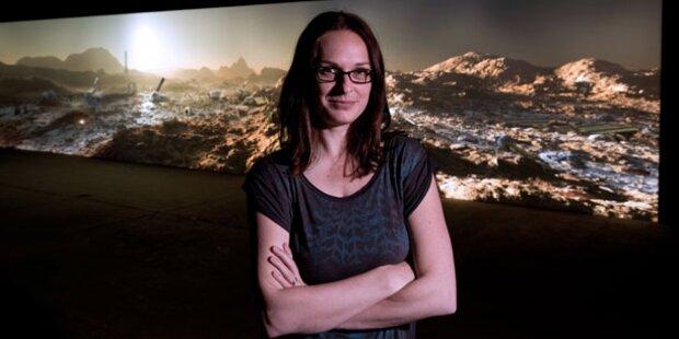 NHM zeigt vermüllte Mars-Installation