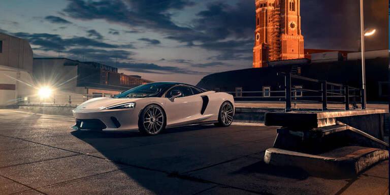 Leistungsspritze für den McLaren GT