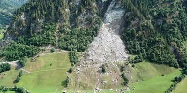 Wieder großer Felssturz in Hüttschlag