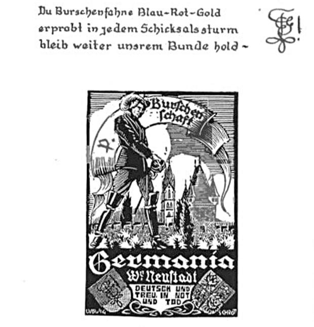 NS-Liederbuch Illustration