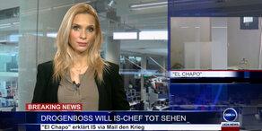 News TV: Drogenboss will IS-Chef tot sehen