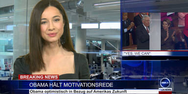 News TV: Obamas Rede & Terroralarm in Wien