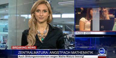 News TV: Zentralmatura - Angstfach Mathematik