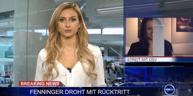 News TV: Fenninger droht mit Rücktritt