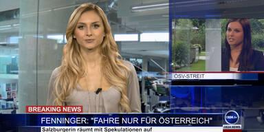 """News TV: Fenninger - """"Ich fahre nur für Österreich"""""""
