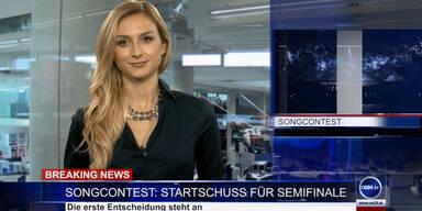 News TV: Startschuss für Songcontest Semifinale
